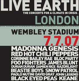 Live Earth - Londra