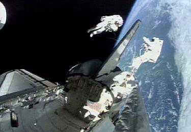 Il primo incontro spaziale diQuidditch