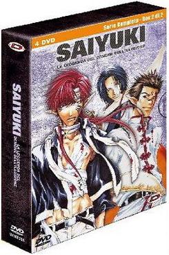 """""""Saiyuki - La leggenda del demone dell'illusione - Serie completa - Box 2 di2″"""