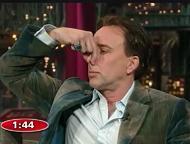 Nicolas Cage daLetterman