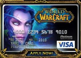 World of Warcraft -Visa