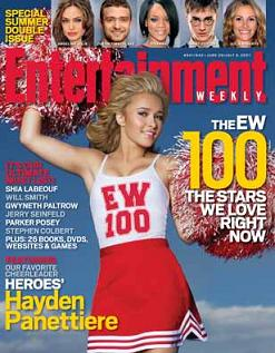 """Entertainment Weekly"", 29 giugno 2007"