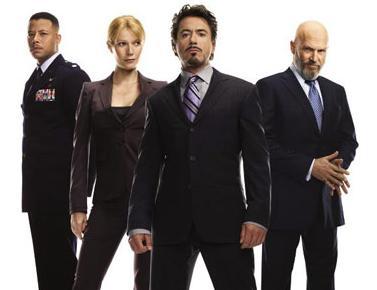 """Il cast di """"IronMan"""""""