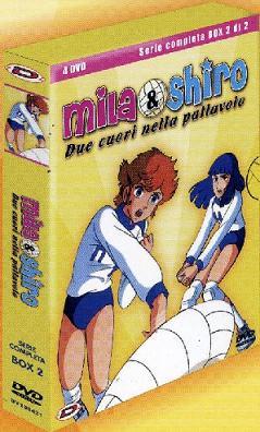Mila & Shiro - Due cuori nella pallavolo - Serie completa - Box 2 di2″