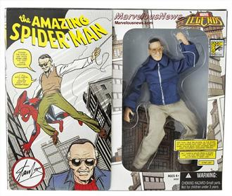 L'action figure di StanLee