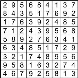 Sudoku,soluzione