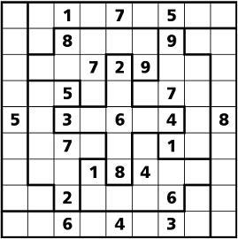Sudokuirregolare
