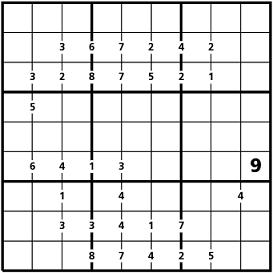 Sudokudifferenza