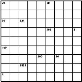 Sudokuprodotto