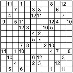 Sudoku12