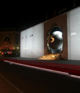 Venezia 2007,scenografia