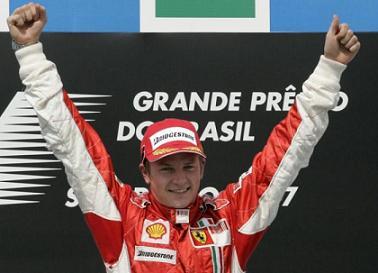 G.P. del Brasile - Doppietta Ferrari, Raikkonen campione delmondo