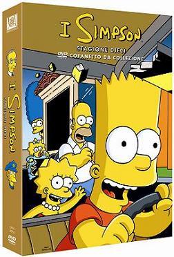 """""""I Simpson - Stagione 10, cofanetto dacollezione"""""""