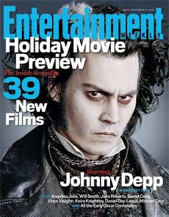 """Entertainment Weekly"", 9 novembre 2007"