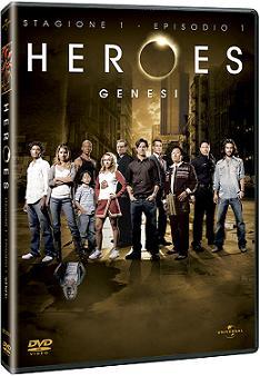 "Heroes - Stagione 1, episodio 1""Genesi"""