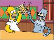I Simpson -Futurama