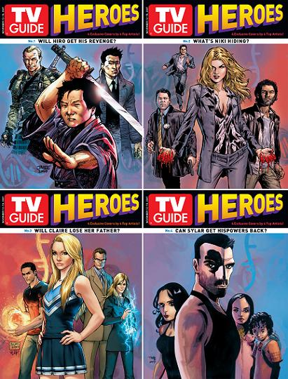 """TV Guide"", 7 novembre 2007 -Heroes"