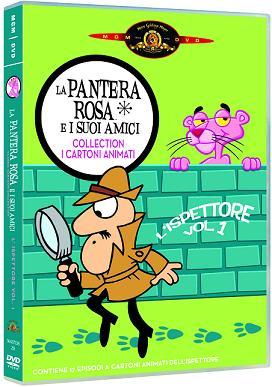 """""""La Pantera Rosa e i suoi amici - Collection I cartoni animati - L'ispettore - Volume1″"""