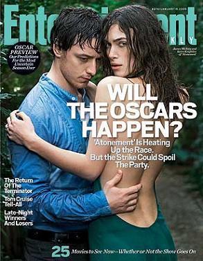 """Entertainment Weekly"", 18 gennaio 2008"
