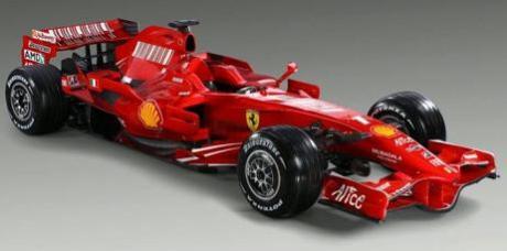 La nuova FerrariF2008