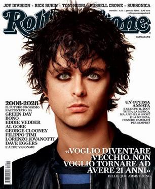 """""""Rolling Stone"""", gennaio 2008"""