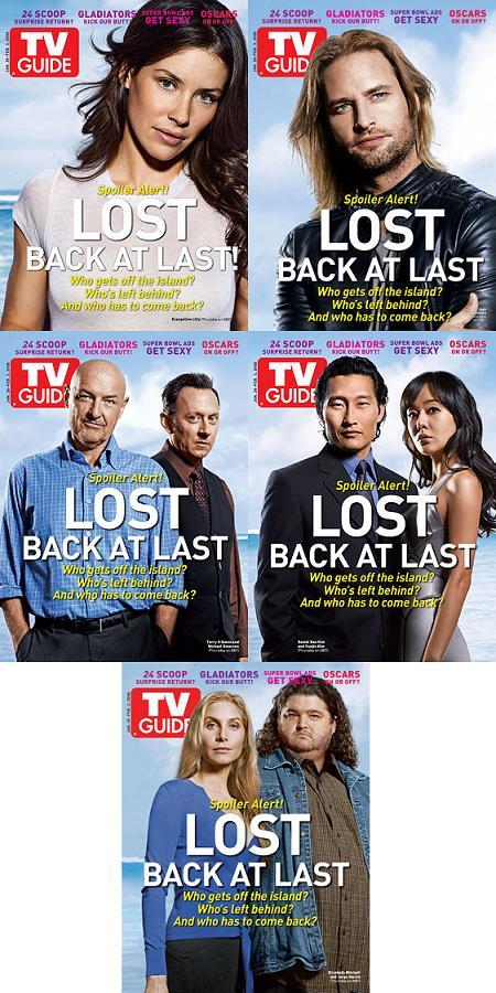 """TV Guide"" speciale Lost"