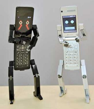 Il cellulare-robot