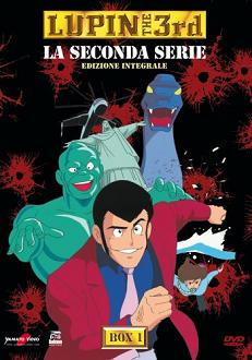 """Lupin the 3rd - La seconda serie, Box 1″"