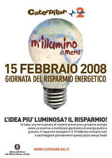 M'illumino di meno 2008