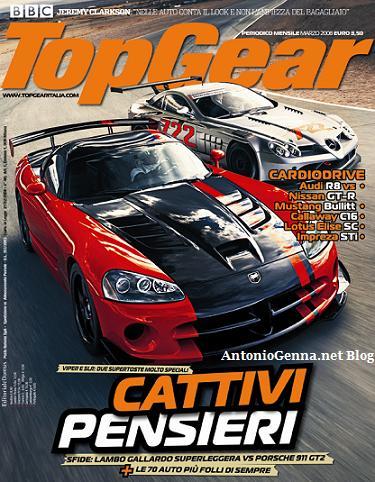 """""""Top Gear"""", marzo 2008"""