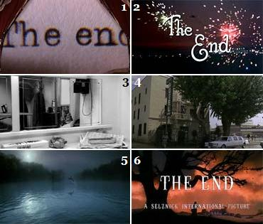 CineQuiz #42 - The End