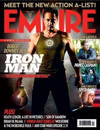 """""""Empire"""", aprile 2008"""