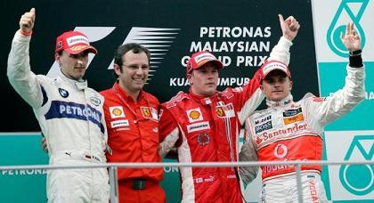 F1, G.P. della Malesia - Raikkonen torna allaribalta
