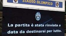 Juventus-Parma, rinvio per lutto