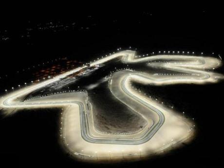 Gare notturne di motomondiale in Qatar