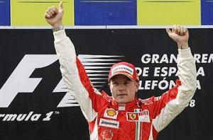 F1, G.P. di Spagna - Vince Raikkonen