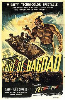 "\""Il ladro di Bagdad\"""
