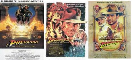 Indiana Jones, i primi 3 film