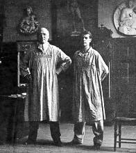 Frank E. Schoonover e Howard Pyle