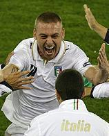 Francia-Italia 0-2, De Rossi