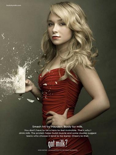 Preso il latte? - Hayden Panettiere