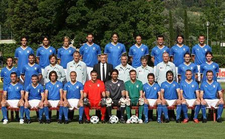 La Nazionale italiana a Euro 2008