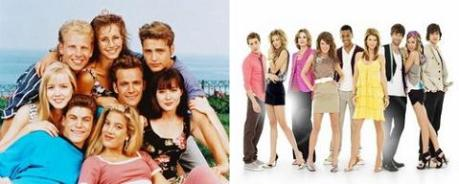 90210, il cast della vecchia e della nuova serie