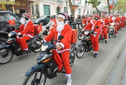 VIETNAM-CHRISTMAS
