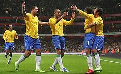 """Brasile v Italia - Amichevole nazionale - Stadio """"Emirates"""" Lond"""
