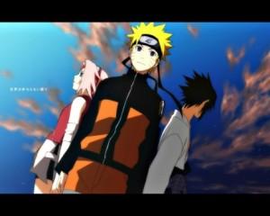 Naruto, Sakura e Sasuke - Naruto Shippuden