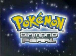 Pokémon Diamante & Perla - Logo Americano