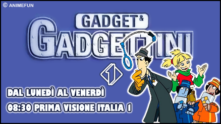 gadget e gadgettini - immagine by charizard 92