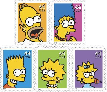 simpson-francobolli