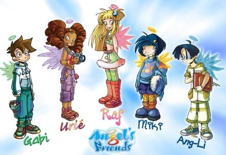Angel's Friends - Raf e gli altri protagonisti della serie